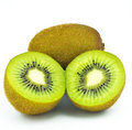 Fresh piece kiwi  fruit Royalty Free Stock Image