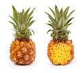 Fresh pineapple closeup Royalty Free Stock Photo