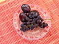 Fresh plum Royalty Free Stock Images