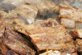 Fresh pork ribs Royalty Free Stock Photo