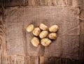 Fresh Potato Royalty Free Stock Photo