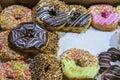 Fresh prepared asian doughnuts