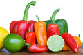 Fresh produce fruit and vegetables Stock Image