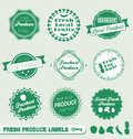 Fresh Produce Labels and Stickers
