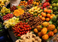 Fresh produce market Stock Image