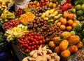 Fresh produce market Royalty Free Stock Photo
