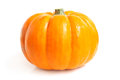 Fresh pumpkin on a white background Royalty Free Stock Image