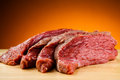 Fresh raw beef Royalty Free Stock Photography