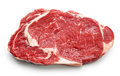Fresh raw beef steak Royalty Free Stock Photo