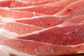 Fresh raw meat background shallow focus Stock Photos