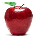 Fresh red apple Royalty Free Stock Photo