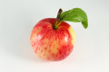 Fresh red apple isolated on white. With clipping path Royalty Free Stock Photo