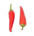Fresh red hot pepper Royalty Free Stock Photos