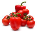 Fresh red vegetables Stock Image