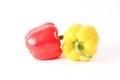 Fresh Red And Yellow Capsicum