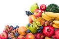Fresh and ripe fruits Royalty Free Stock Images