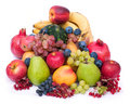 Fresh and ripe fruits Stock Photography