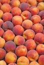 Fresh ripe peaches Stock Photos