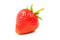 Fresh ripe strawberry isolated on white background Royalty Free Stock Photography