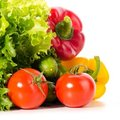 Fresh ripe vegetables Stock Photo