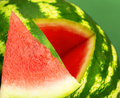 Fresh ripe watermelon part of Royalty Free Stock Photo