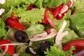 A fresh salad Stock Image