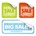 Fresh sale labels Royalty Free Stock Image