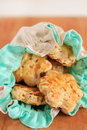 Fresh savory cookies Royalty Free Stock Photography