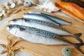 Fresh sea fish Royalty Free Stock Photo
