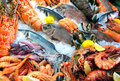 Fresh seafood Royalty Free Stock Photos