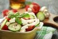 Fresh seasonal salad vegetables Stock Image