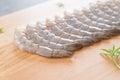 fresh shrimp/prawn Royalty Free Stock Photo