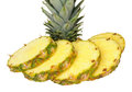 Fresh Sliced Pineapple Royalty Free Stock Photo