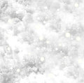Fresh snow texture with star. Vector background