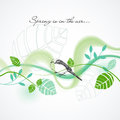 Fresh spring background Stock Image