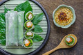 Fresh Spring Roll Royalty Free Stock Photo