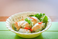 Fresh spring rolls vietnamese noodle roll Royalty Free Stock Photos