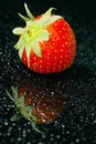 Fresh strawberry, close-up Royalty Free Stock Photo