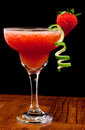 Fresh strawberry cocktail Royalty Free Stock Photo