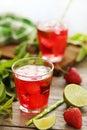 Fresh strawberry drink Royalty Free Stock Photo