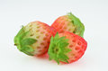Fresh strawberry isolated Royalty Free Stock Photo