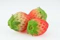 Fresh strawberry isolated Royalty Free Stock Photo