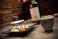 Fresh Sushi Platter Royalty Free Stock Photo