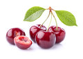 Fresh sweet cherry Royalty Free Stock Photo