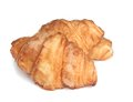 Fresh and tasty  croissant . Stock Image