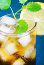 Fresh and tasty Ice tea. Stock Image