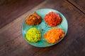 Fresh thai hot curry paste Royalty Free Stock Photo