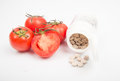 Fresh tomato drink vitamin on table de Stock Images