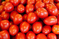 Fresh tomatoes in market Royalty Free Stock Photography