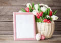 Fresh Tulip Flowers Bouquet An...